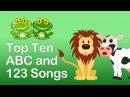 TOP 10 ABC 123 SONGS PLAYLIST- 20 MINS LONG. Kindergarten and Preschool Learning Songs