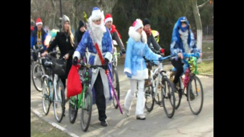 новогодний вело-карнавл 2015г