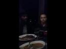 Colman Domingo's Periscope, ужин в ресторане с кастом FTWD (Frank Dillane, Фрэнк Диллэйн)