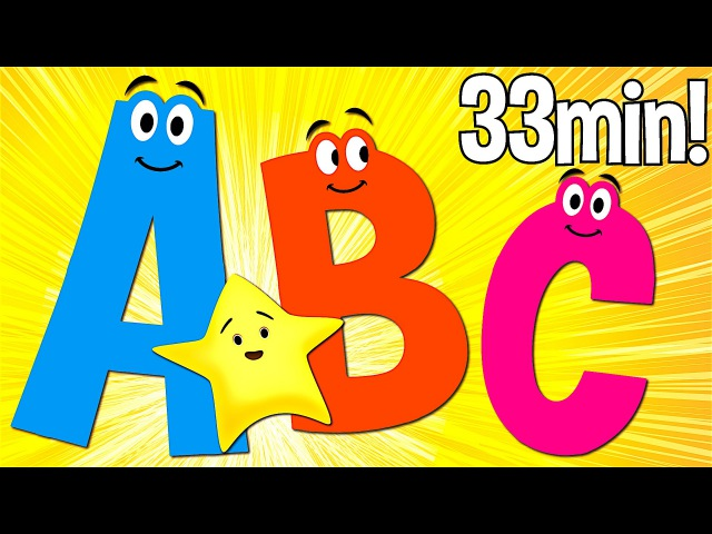 ABC Songs for Kids | A to Z (Uppercase) | Super Simple ABCs