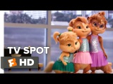 Alvin and the Chipmunks The Road Chip TV SPOT - Juicy Wiggle (2015) - Animated Movie HD