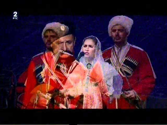 Ruski kubanjski kozački ansambl - Drugi deo koncerta