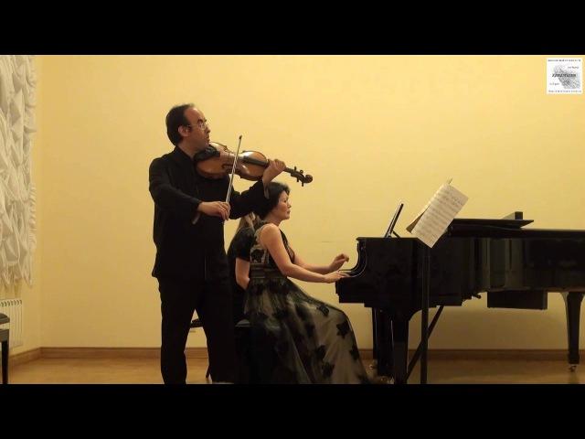 Ф. Шуберт Соната для арпеджионе и фортепиано a-moll D821 Д. Якубовский, Е Леджинова