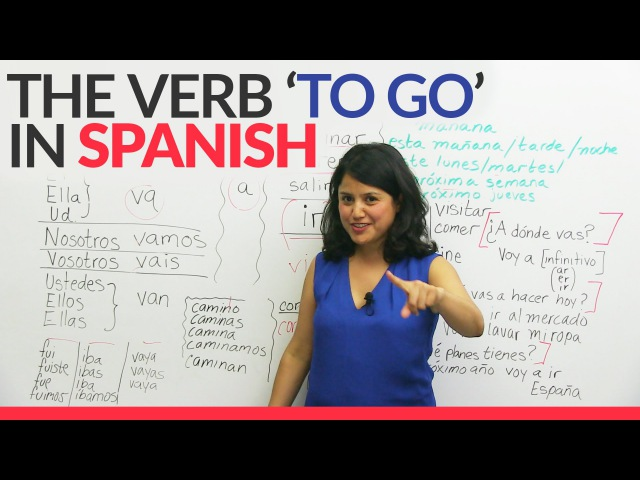 Learn Spanish: The verb 'TO GO' – IR, VOY, VAS in Spanish made easy