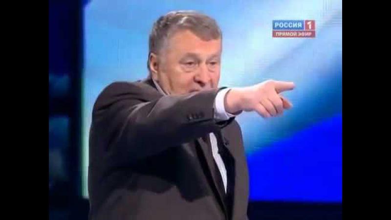 Жириновский / Путин. Дебаты перед выборами Президента РФ 2012