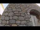 Строим дом из камня. Уникальная кладка / Building a house made of granite. Unique stone masonry