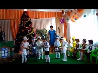 """Мой первый  утренник  и Дед Мороз. Садик """"Кораблик"""" №64 г. Мариуполь"""