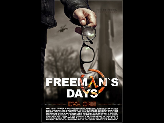 Freemans Days. Day One. Part 1 (English subtitles) Half-Life