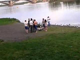 Красноярск. драка геи против гопников.