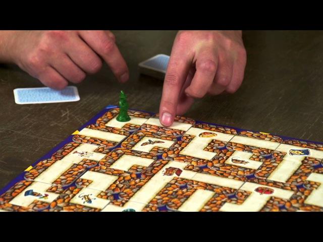 Обзор настольной игры - Сумасшедший Лабиринт!