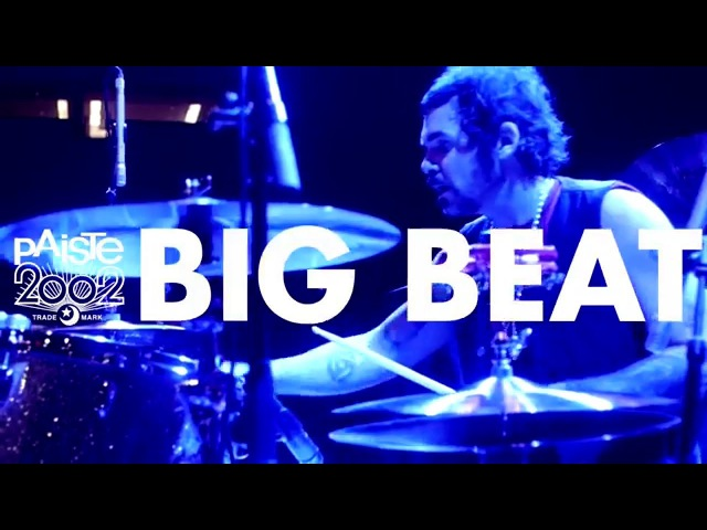 Paiste 2002 Black Big Beat Michael Miley of Rival Sons