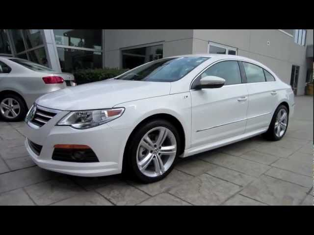 2012 Volkswagen CC R-Line 2.0T Start Up, Engine, and In Depth Tour