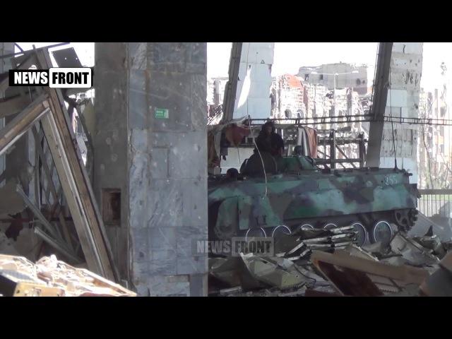 Батальон Сомали в Донецком аэропорту. Перемирие идет полным ходом. 9 июня 2015