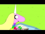 Adventure.Time.S06E11E12.Little.Brother.-.Ocarina.  Время приключений. sub субтитры.
