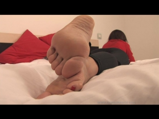 Noemis World - Bare soles,toe sucking,sniffing feet, foot worship, pantyhosed feet! (1)