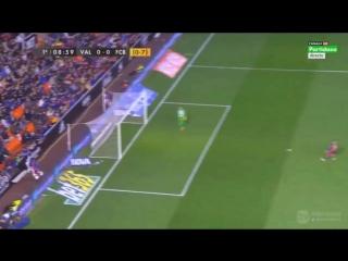 Валенсия - Барселона 1-1 (10 февраля 2016 г, 1⁄2 финала Кубка Испании)