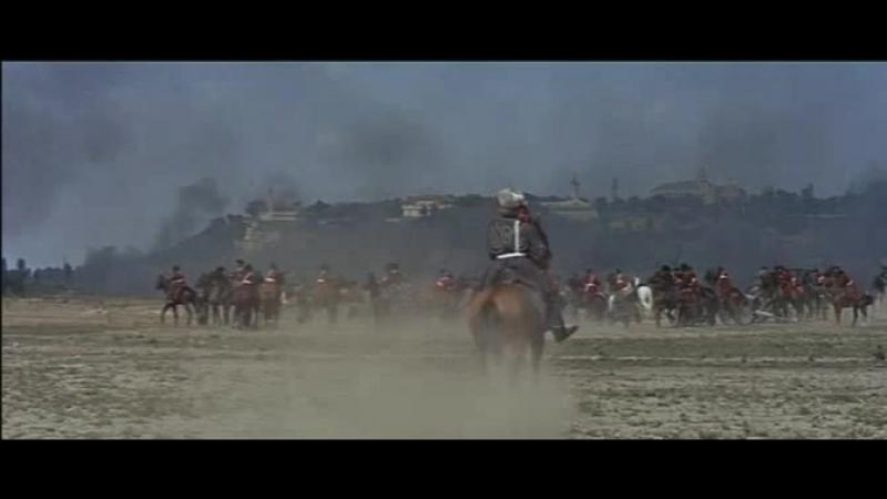 Русская кавалерия против восставших татар (Михаил Строгов)