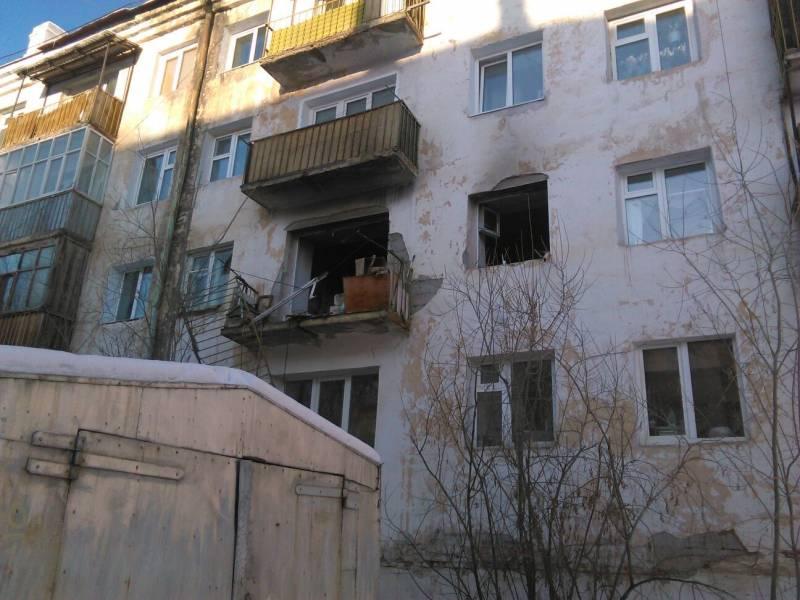 По факту взрыва бытового газа в жилом доме Следственным комитетом Якутии проводится процессуальная проверка
