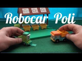 Машинки мультфильм. Robocar Poli. Робокар Поли и его друзья. Клини заболела