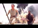 Звездные войны: Пробуждение силы Фрагмент STAR WARS: THE FORCE AWAKENS Movie Clip #1 - Escape (2015) Epic Space Opera Movie HD