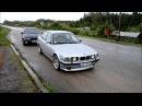 BMW e34 525 tds M Technic drift