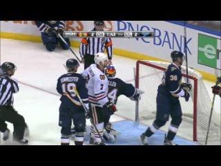 Blues vs. Blackhawks Highlights HD 60fps (14.10.2015)