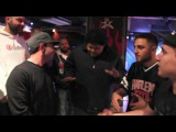 A-F-R-O and EAMON freestyle cypher with Beatboxer