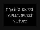 Sweet Victory - David Glen Eisley - Lyrics