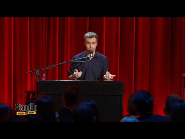Stand Up: Иван Абрамов - О русском рэпе, шансоне и английских словах в русских песнях из сериала STAND UP смотреть бесплатно видео онлайн.