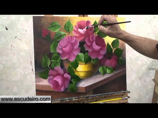 Pintura de Rosas Escudeiro