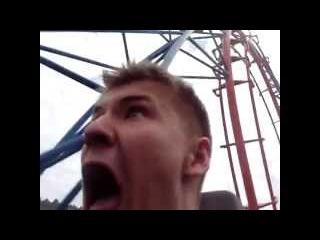 Блять че за хуйня ! Назад блядь ! // Guy on the Roller coaster