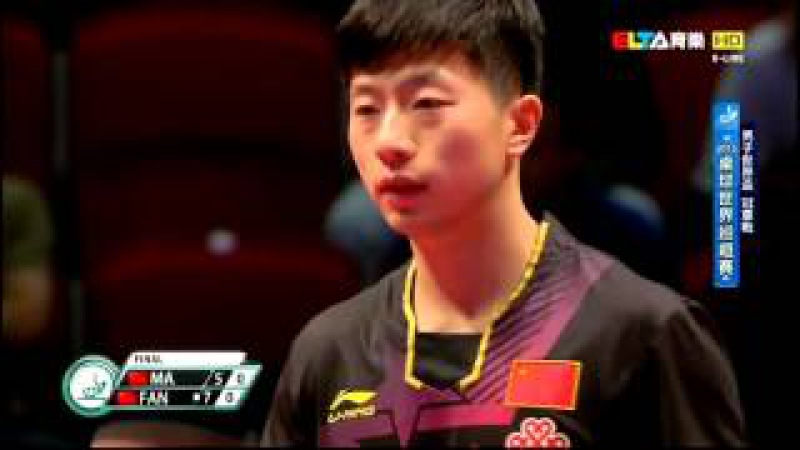 2015 World Cup Ms-Final: MA Long - FAN Zhendong [HD] [Full Match/Chinese]