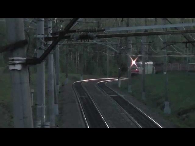 Электровоз ВЛ10-328 перегон Чернецкое - Столбовая (БМО)