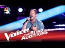 The Voice 2015 Blind Audition Barrett Baber Angel Eyes