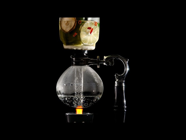 Molecular Mixology: Hot Infusion Siphon Cocktail