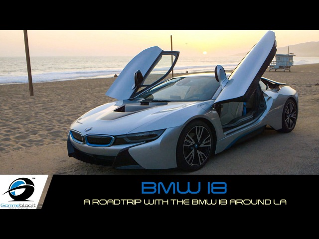 A Roadtrip with the BMW i8 around LA: Old School meets New Age