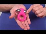 Эрекционное кольцо с вибро яйцом