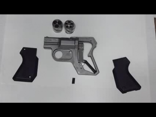 Lda pistol detail strip