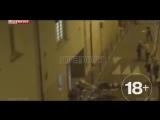 Французский репортер снял, как раненые парижане убегали от террористов (Строго 18+ ужасные кадры)