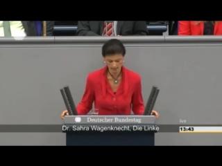 Депутат Бундестага- Фрау Меркель, Вы обманываете население Германии о событиях на Украине!