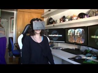 Реакции людей на виртуальную реальность