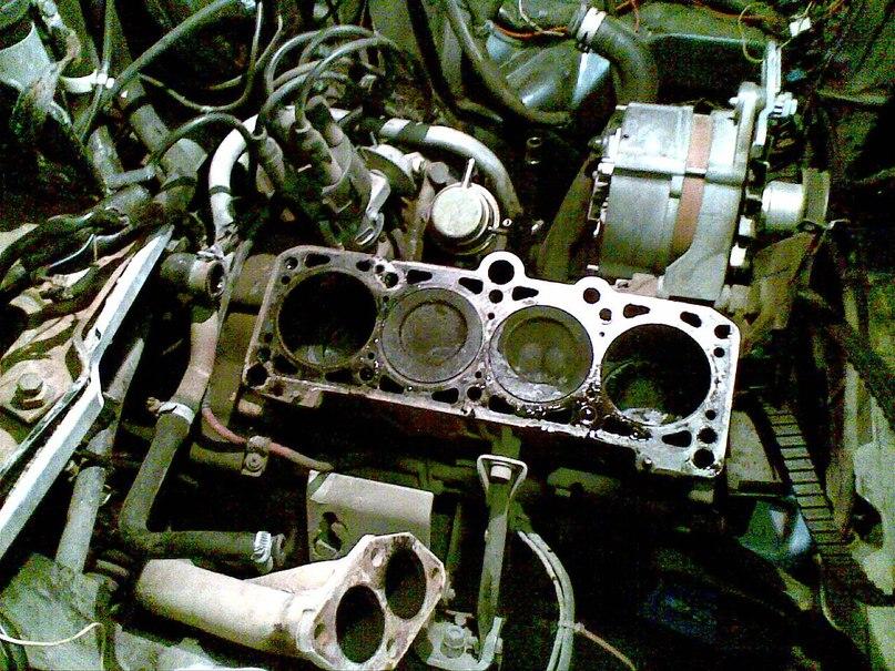 Ремонт двигателя ауди 80 своими руками