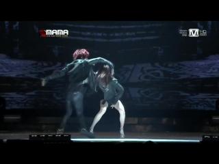 Js feat. Hyuna - Trouble maker _ MAMA 2012 In Hong Kong