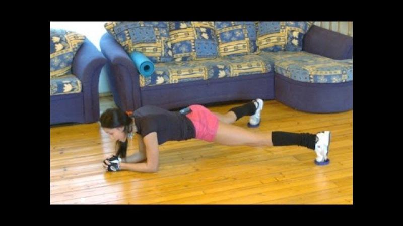Видео уроки как убрать живот и бока в домашних условиях как похудеть jgsn
