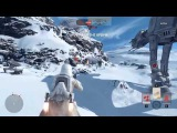10 минут геймплея Star Wars: Battlefront