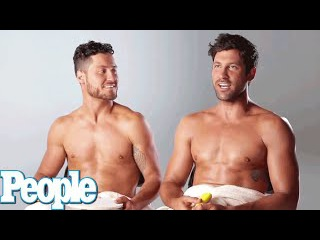 DWTS' Maks & Val Chmerkovskiy Play a Game... Naked | PEOPLE