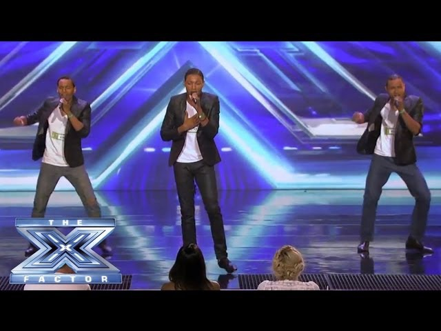 AKNU - Brothers from LA Perform Valerie - THE X FACTOR USA 2013