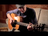 James Taylor on playing and technique exclusive video for Guitarist magazine