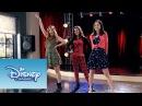 Naty Fran y Cami cantando A mi lado Momento Musical Violetta