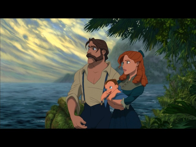 Tarzan - Two Worlds One Family (1080p)